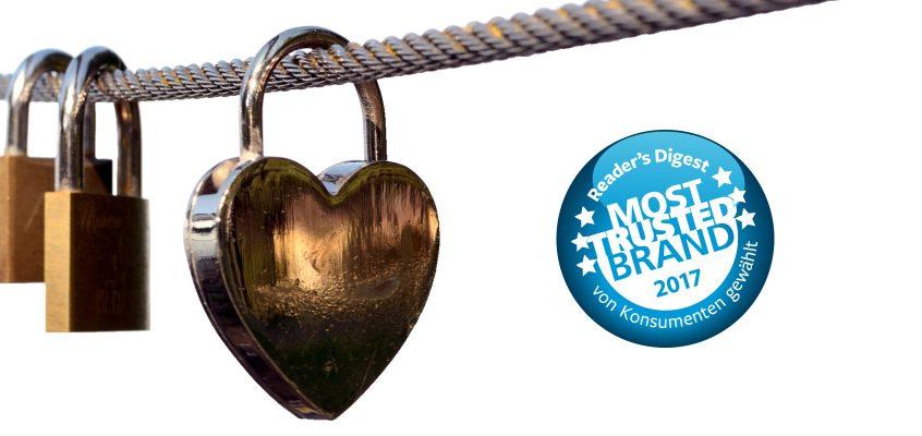 Markenvertrauen – Most Trusted Brands 2017