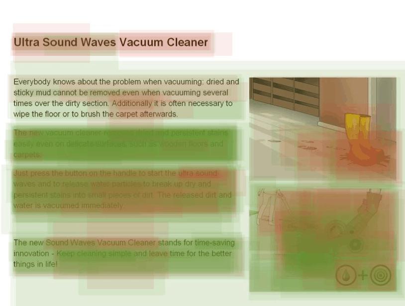 Konzept Vacuum Cleaner VCM