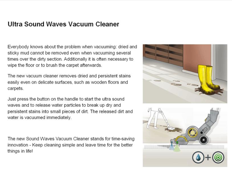 Konzept Vacuum Cleaner Bild