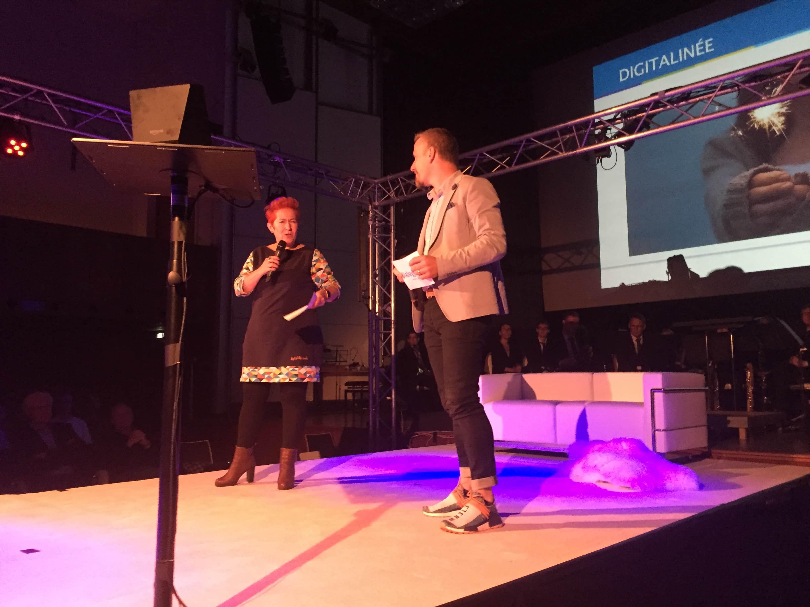 Andera und Volker Gadeib bei der Digitalinee Aachen 2025