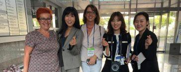 Gruppenfoto Korea