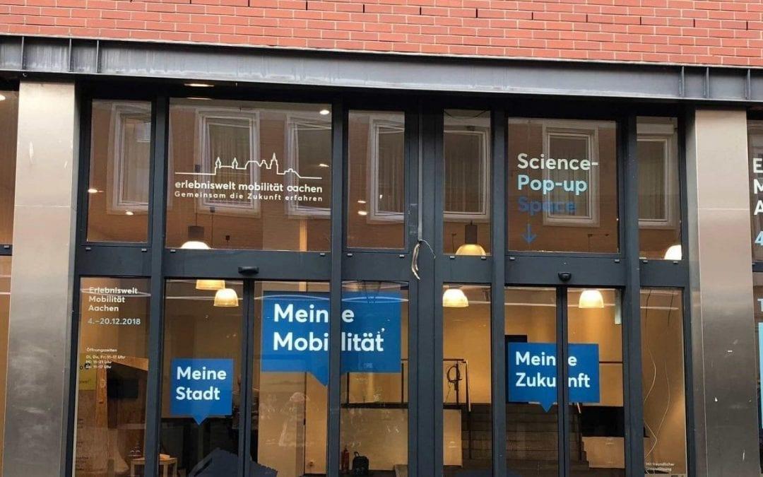 Zukunft der Mobilität gestalten im Popup Store Aachen