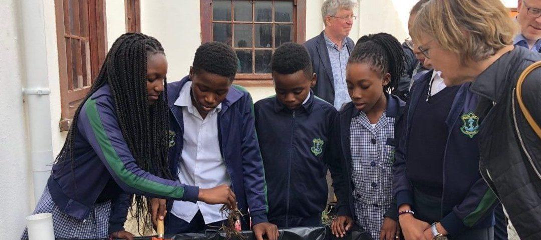 Schüler in Kapstadt