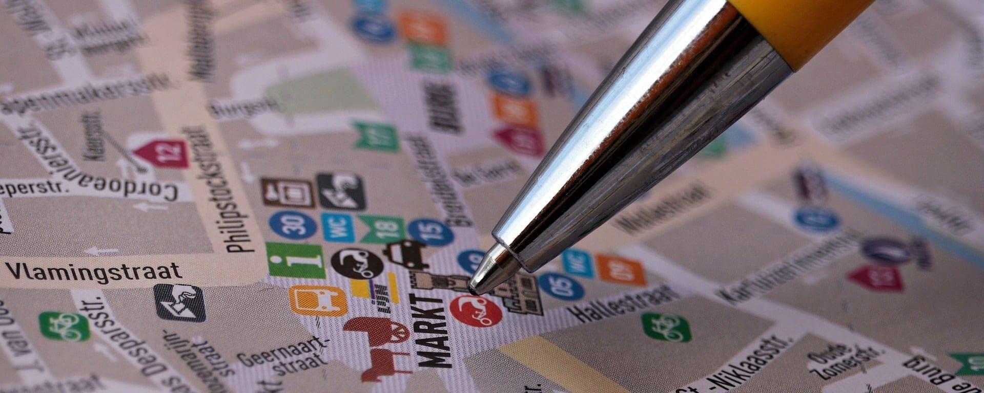 Stadtplan Centrum Markt