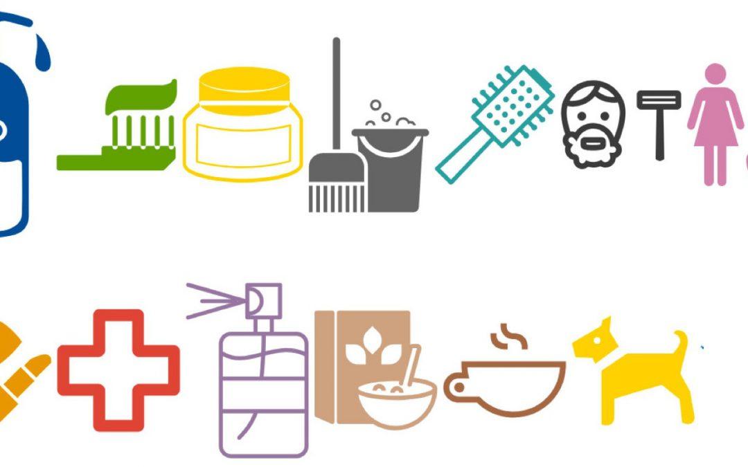 Icons Drogeriemarktartikel
