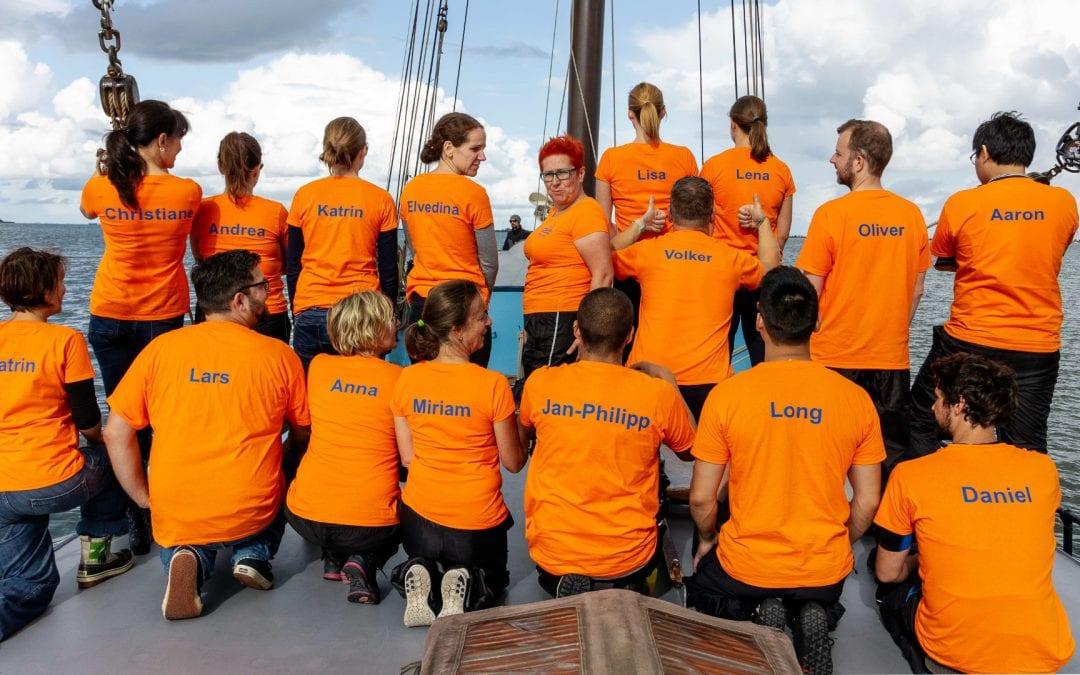 Leinen los – Das Dialego-Team segelt