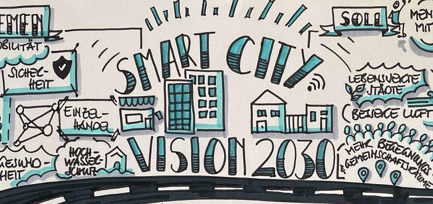SmartCity Bildausschnitt Sketchnotes
