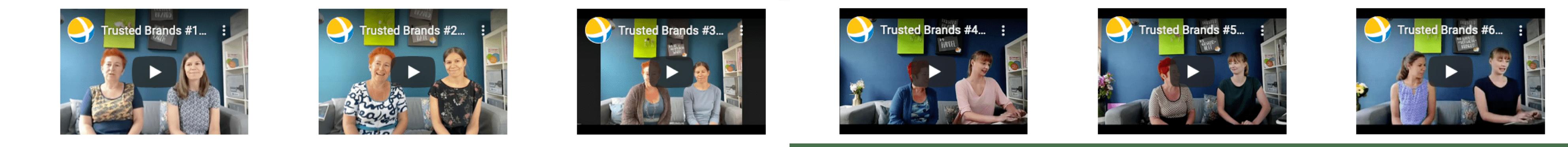 Teaser Videoaufzeichnungen zu den vertrauenswürdigsten Marken 2020